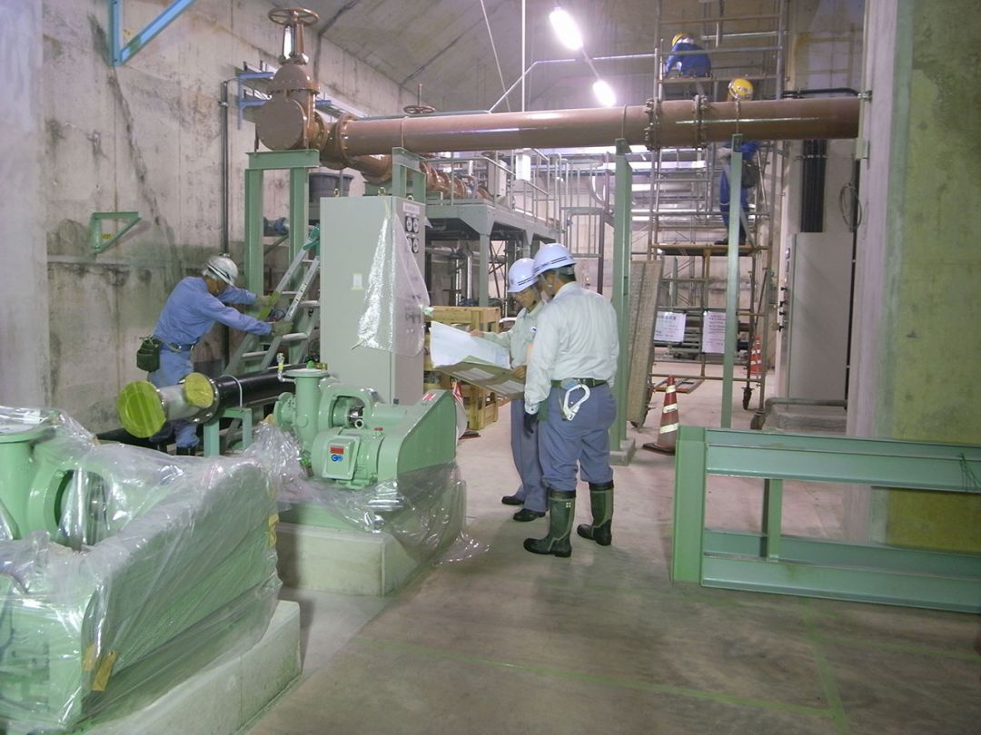 下水道センター水処理設備工事 [新潟県]